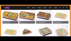 Ghoghnous distribution, a multiple language website, designed by Rooyesh Academy