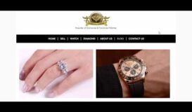Diamond Empire jewelry website designed by Rooyesh academy